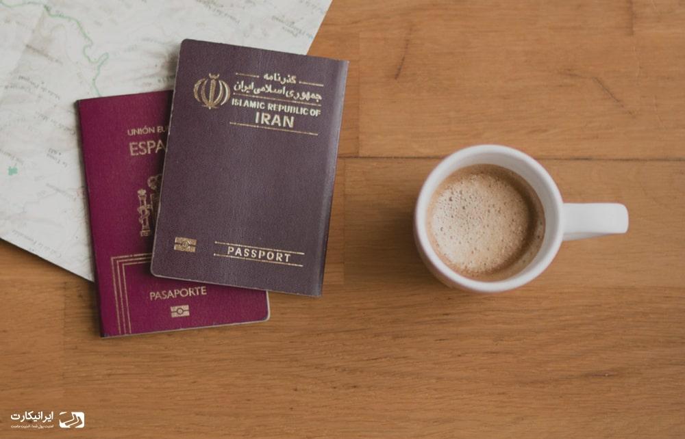 پاسپورت ایرانی و سفر بدون دریافت ویزا