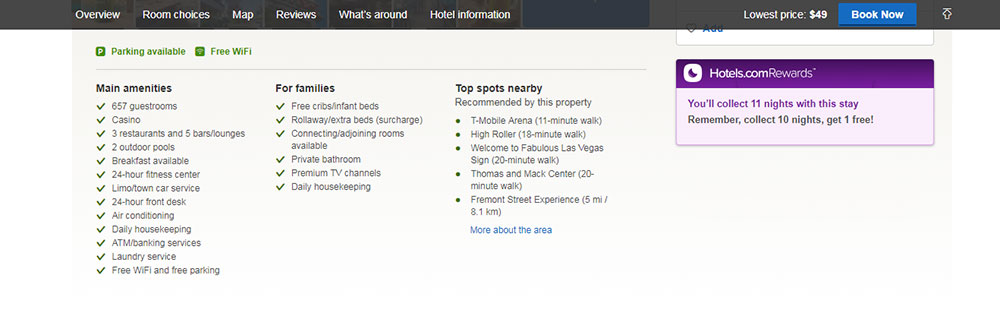 رزرو هتل در Hotels.com
